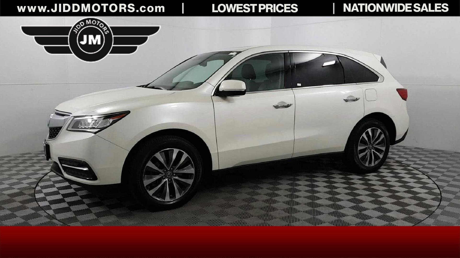 Used Acura MDX L SHAWD WTechnology Pkg In Des Plaines - Acura suv price