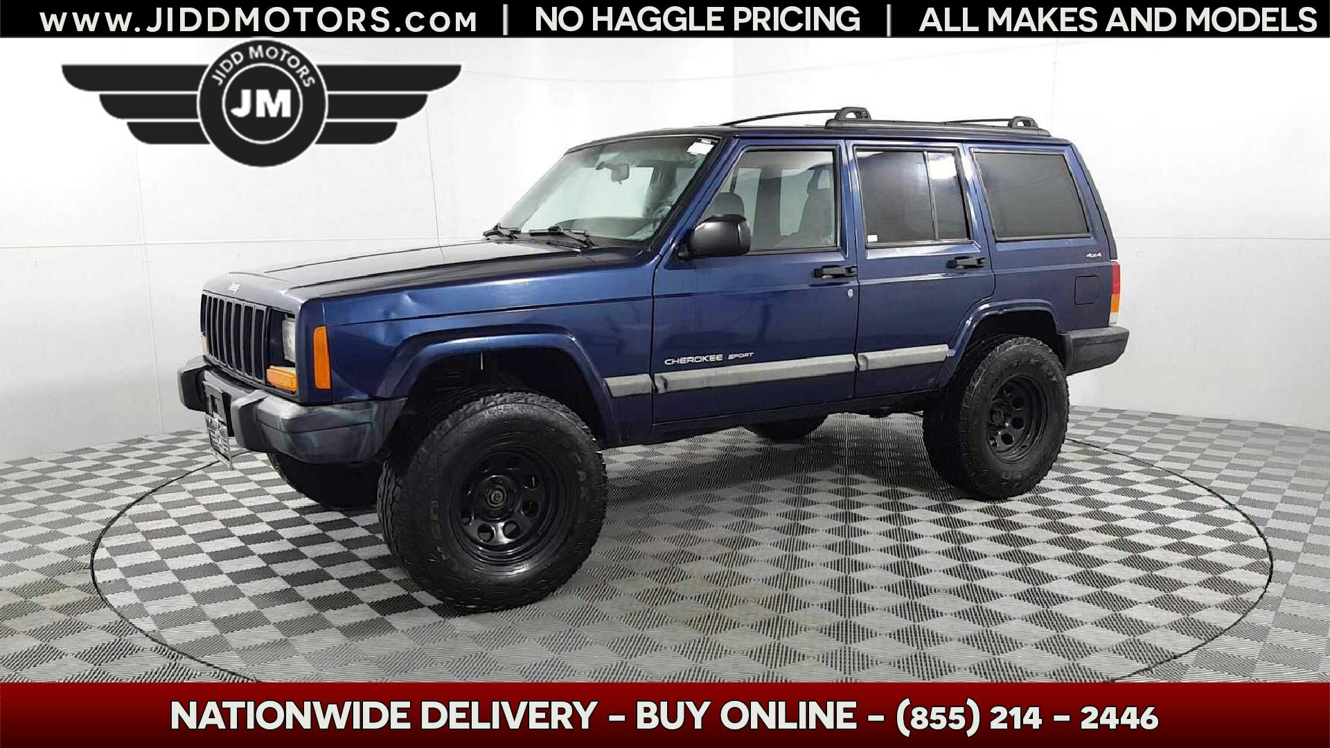 Sold 2001 Jeep Cherokee Sport In Des Plaines
