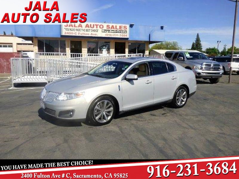 2009 Lincoln MKS ONE OWNER**FULLY LOADED**NAVY**LEATHER**AWD**