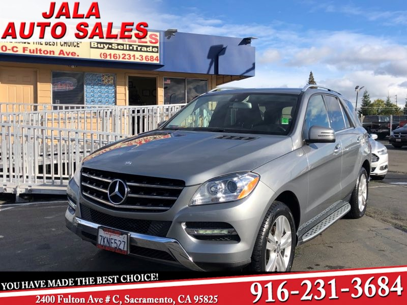 2015 Mercedes-Benz ML 350 4 Matic Fully Loded Navi SUV