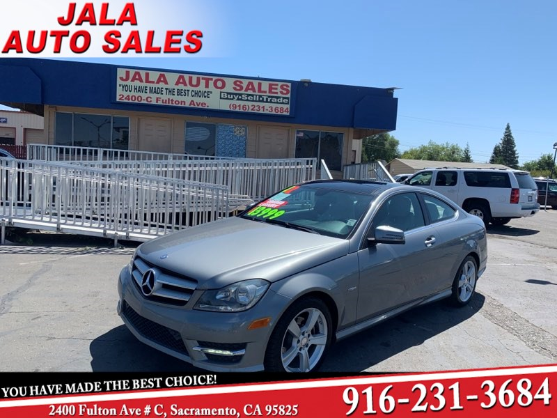 2012 Mercedes-Benz C 250 Coupe***LOADED***LOW MILES****NAVY****