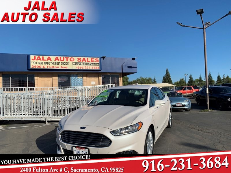 2016 Ford Fusion Energi SE Luxury***LEATHER**NAVY***ONE OWNER***