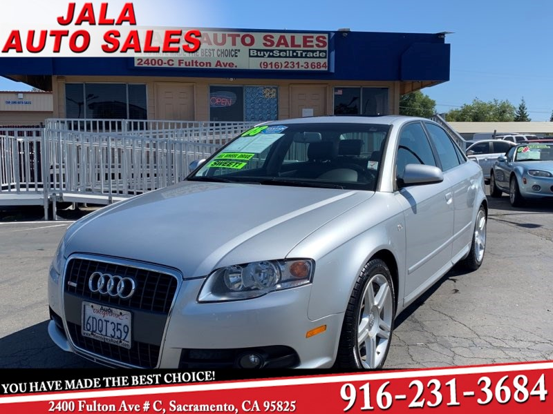 2008 Audi A4 2.0T**S line ***Leather**Moon roof****89K Miles***
