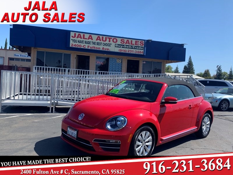 2019 Volkswagen Beetle Convertible S***LIKE NEW***ONE OWNER****LOADED***JUST 1K MILES