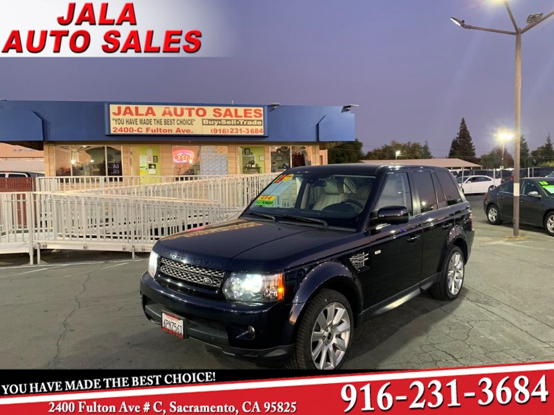 2012 Land Rover Range Rover Sport Super charge***Low Miles 89k Miles***Navi***Loaded