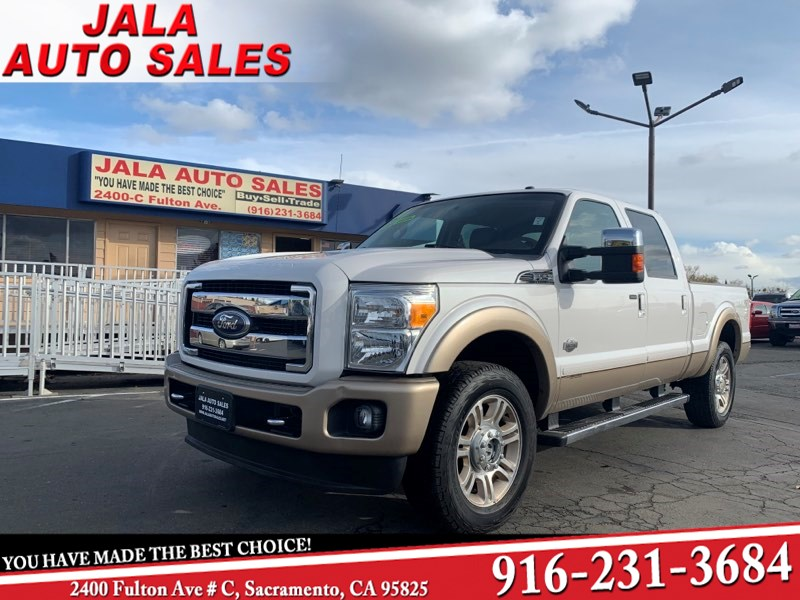 2011 Ford Super Duty F-250 SRW King Ranch**4X4**LOADED***NAVIGATION***79K MILES