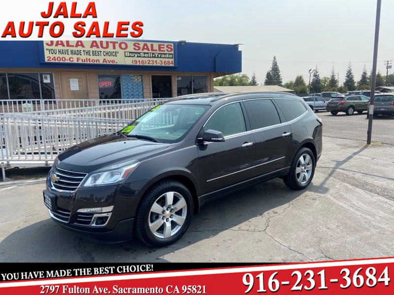 2015 Chevrolet Traverse LTZ*** LEATHER**NAVY**AWD