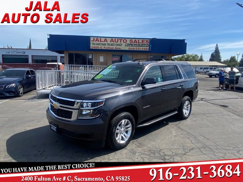 2016 Chevrolet Tahoe LS**LEATHER**NAVY**LOADED**