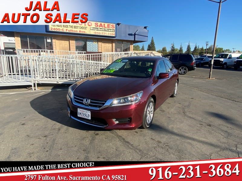 2015 Honda Accord Sedan LX**ALL POWER**BACK UP CAMERA**1 OWNER***