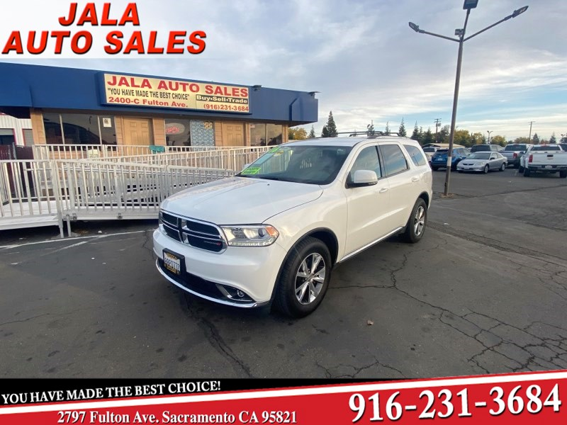2016 Dodge Durango Limited****LOADED****LEATHER****ALL THE TOYS
