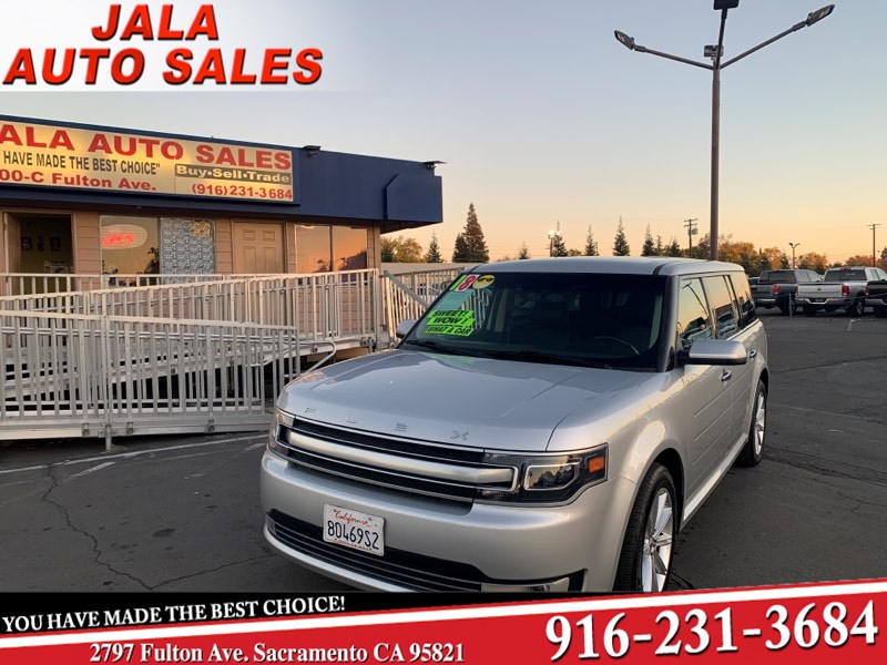2018 Ford Flex Limited***SUPER NICE AND CLEAN***LOADED