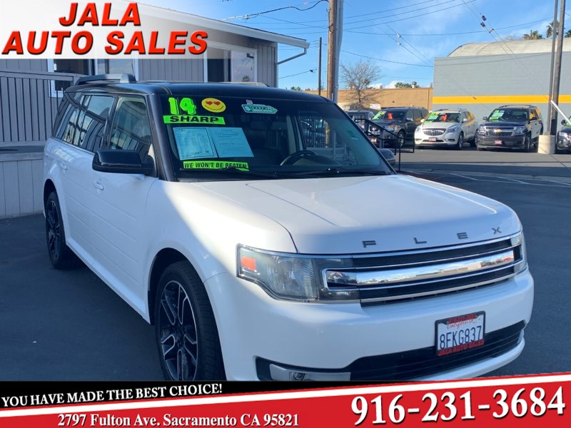 2014 Ford Flex SEL*** ALL POWER***LEATHER**NAVY**SHARP***