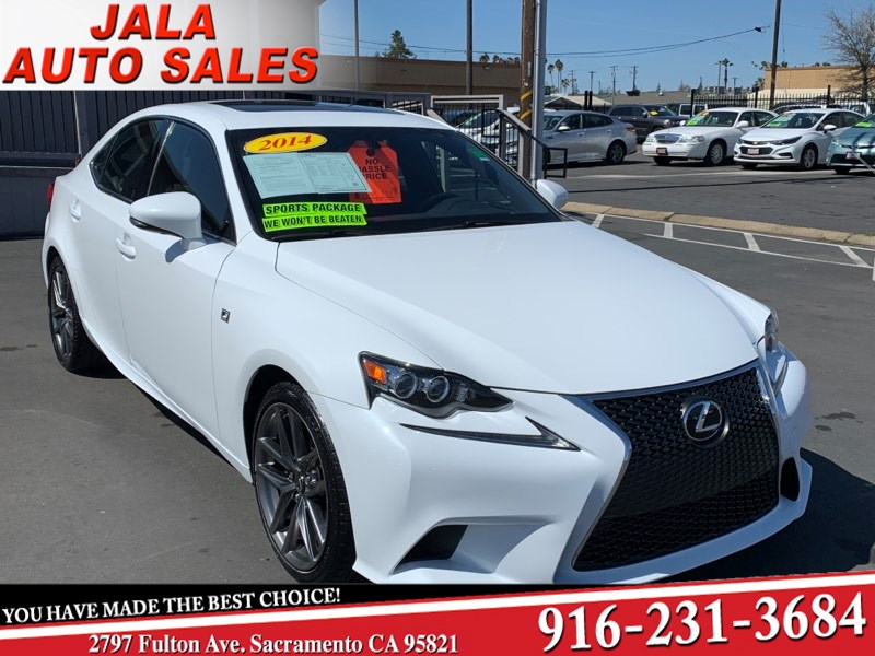 2014 Lexus IS 250 F SPORT PKG****ALL THE TOY***LOW LOW MILES****