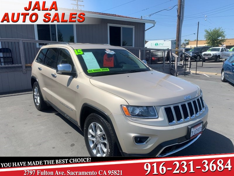 2015 Jeep Grand Cherokee Limited****ALL LEATHER***LOADED***AWD***ONE OWNER