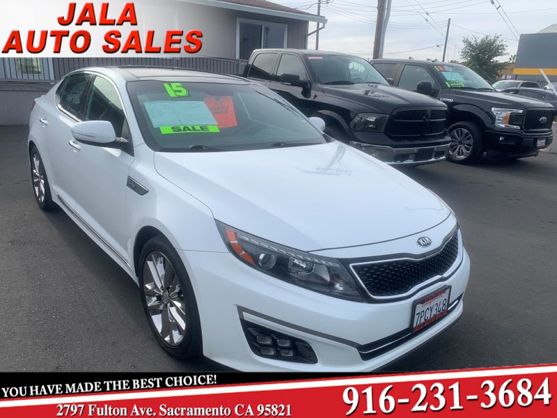 2015 Kia Optima SXL Turbo***HOT COLOR****ALL POWER**FULLY LOADED**