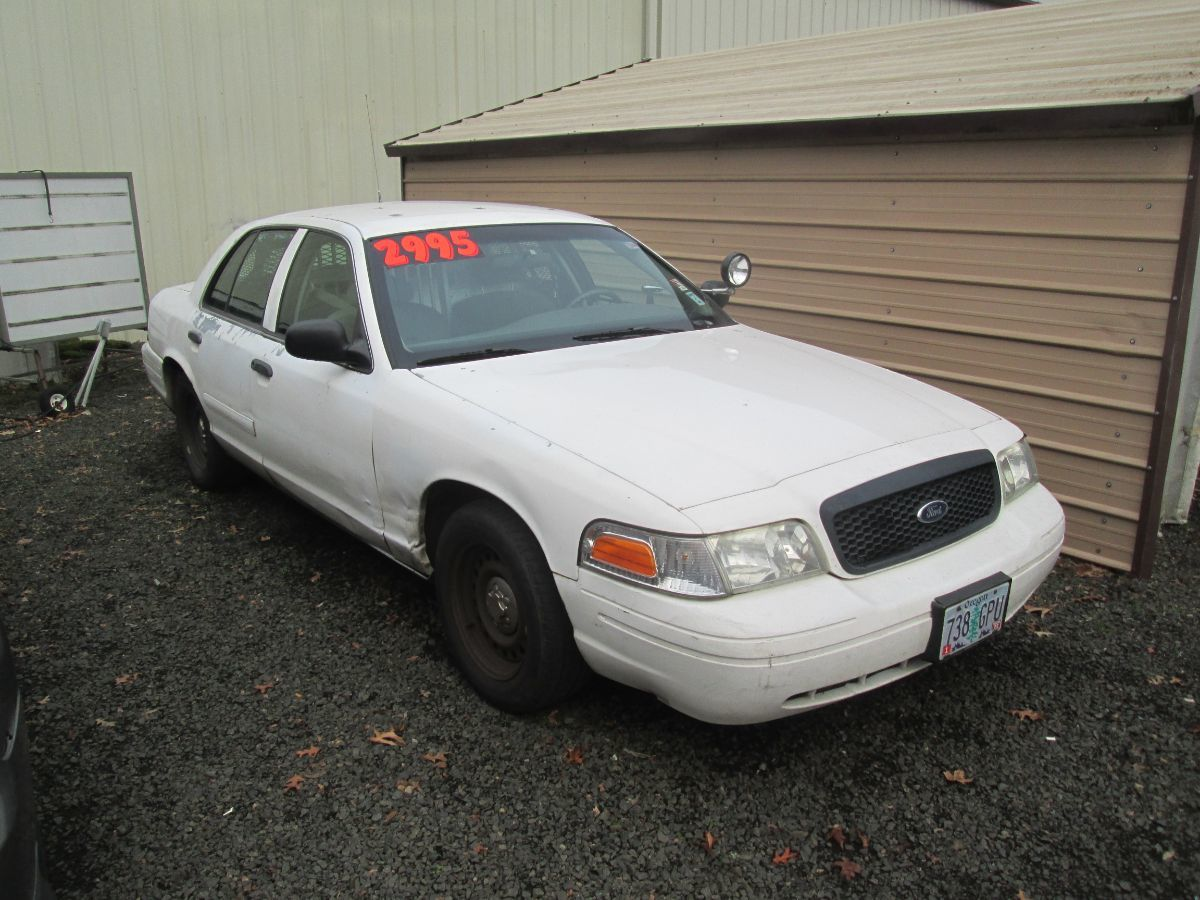 2001 Ford Crown Victoria Police Pkg Police Interceptor