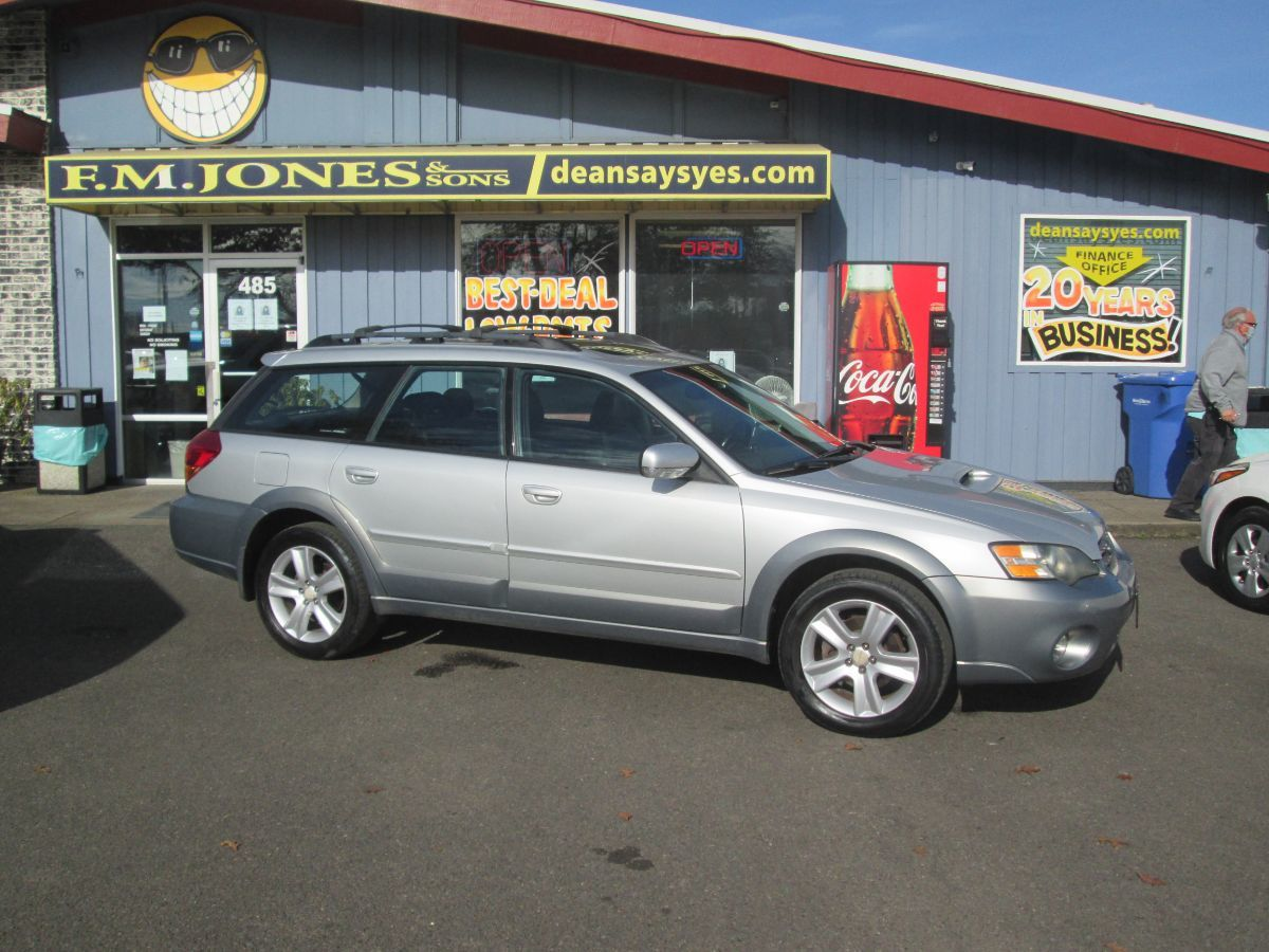 2005 Subaru Legacy Wagon (Natl) Outback XT Ltd