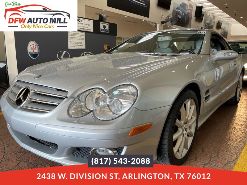 2007 Mercedes-Benz SL550