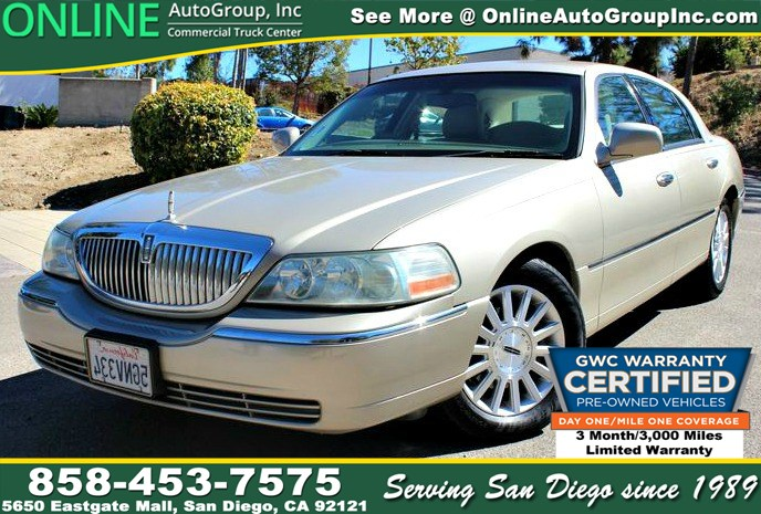 Sold 2004 Lincoln Town Car Signature 3 Month 3000 Mile Free Extended
