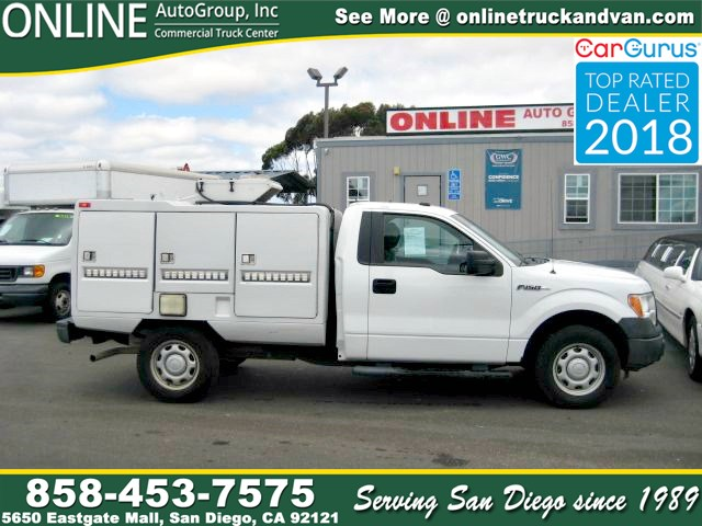 2011 Ford F-150 XL Utility Bed,