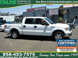 View 2010 Ford F-150 XLT Crew Cab