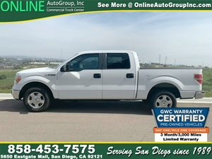 View 2010 Ford F-150 XLT Crew Cab,