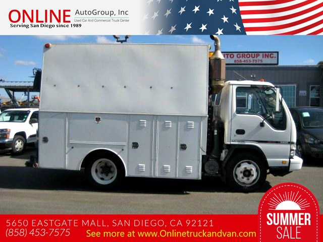 2006 GMC W- 5500  Service Body, Utility With Crane