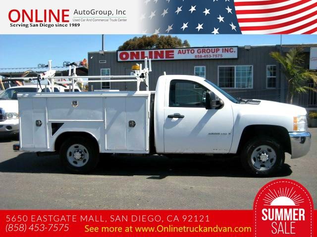 Used Trucks San Diego >> Used 2008 Chevrolet Silverado 2500hd Utility Work Truck In San Diego