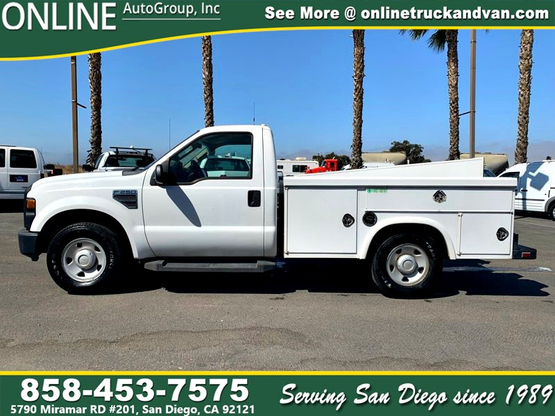 2008 Ford F-250 Super Duty 8' Utility Bed, SOLD, MORE AVAILABLE