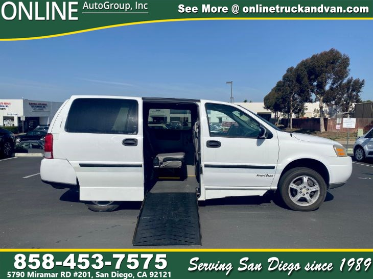 2008 Chevrolet uplander with wheel chair ramp LS Fleet