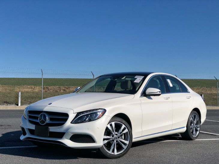2017 Mercedes-Benz C 300 4MATIC Sedan with Sport Pkg