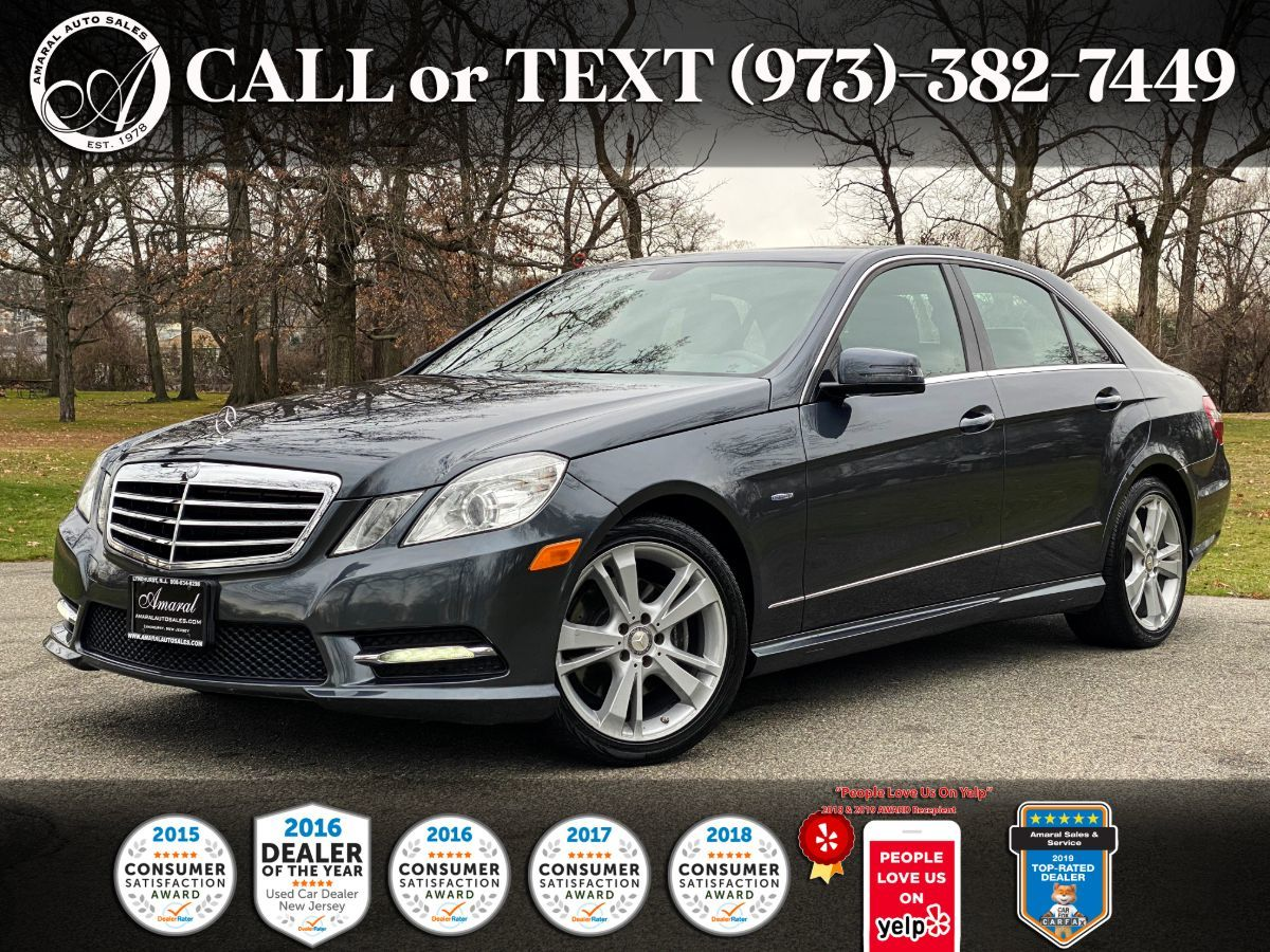 2012 Mercedes-Benz E 350 4MATIC Sport Sedan