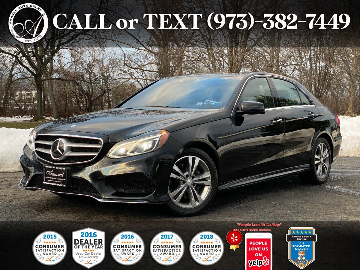 2014 Mercedes-Benz E 350 4MATIC Sport Sedan