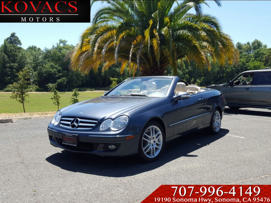 Used Mercedes Benz For Sale In Sonoma Ca Kovacs Motors 2008 Ml320 Fuel Filter Location Clk350 Cabriolet