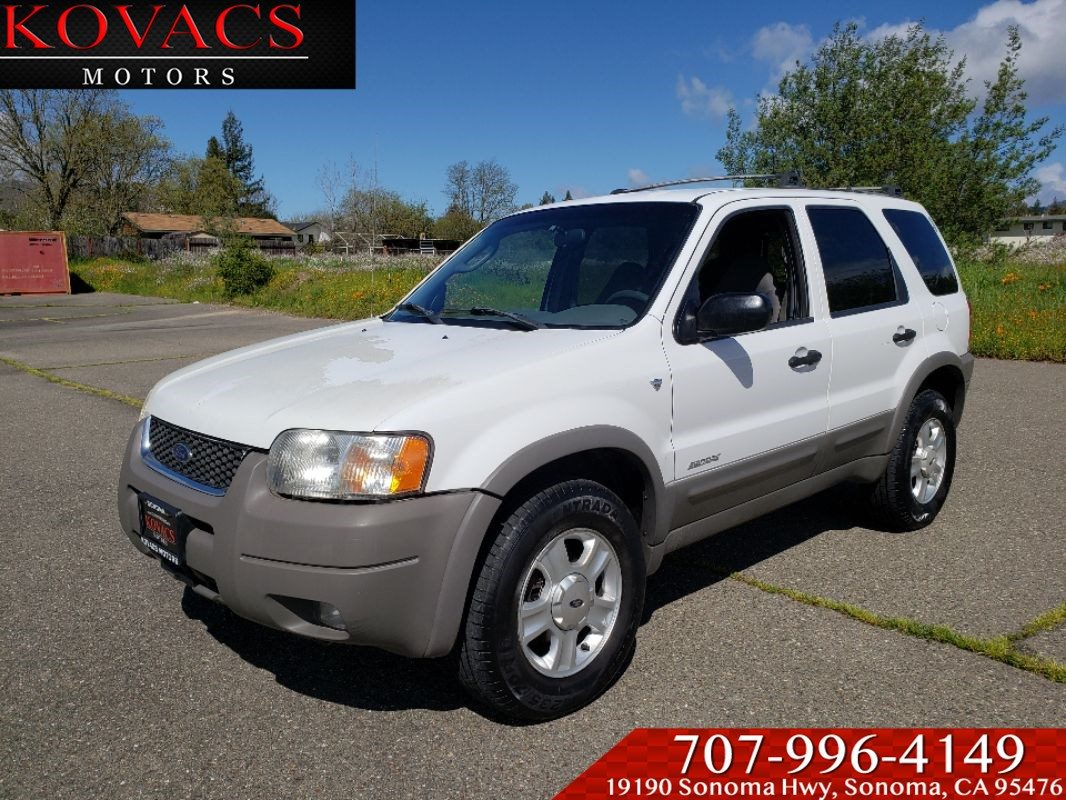 Sold 2001 Ford Escape Xlt In Sonoma
