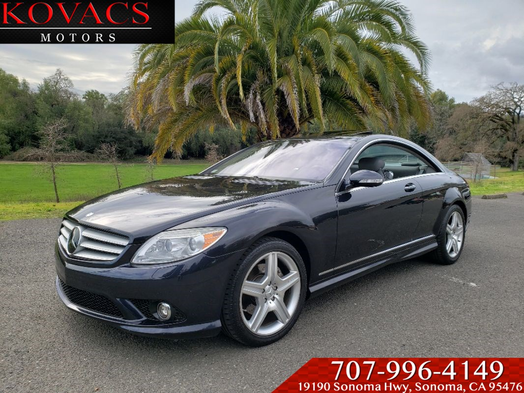 2008 Mercedes-Benz CL550 Coupe