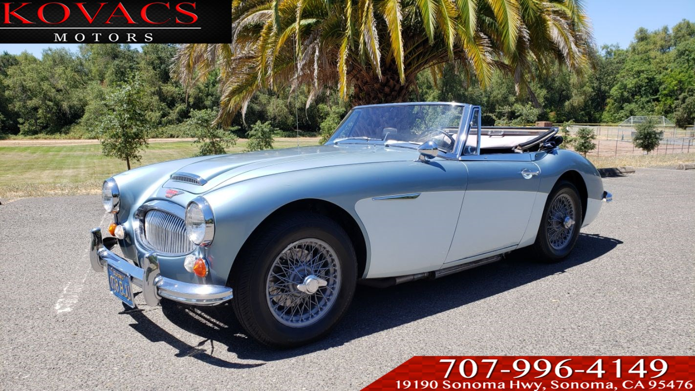 1967 Austin-Healey 3000 MKIII Phase II BJ8