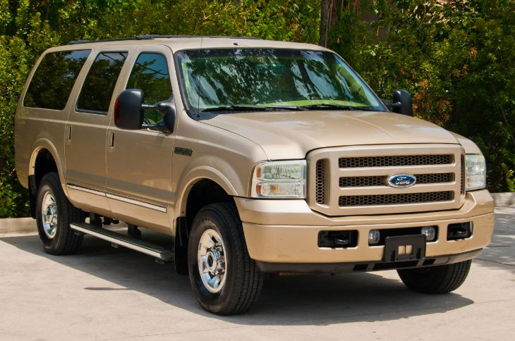 2005 Ford Excursion Limited BULLETPROOFED