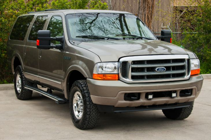 2000 Ford Excursion 4wd Limited Edition Trim Integrity Auto Lc