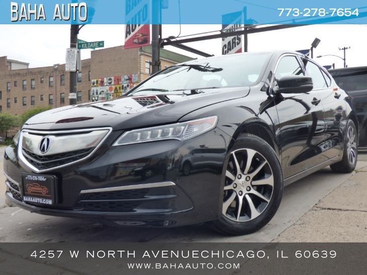 2016 Acura Tl >> Used 2016 Acura Tlx In Chicago