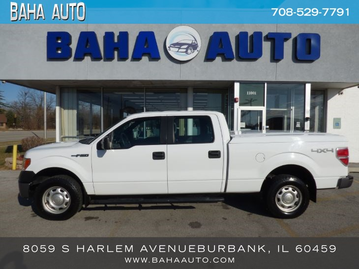 "2014 Ford F-150 4WD SuperCrew 157"" XL"