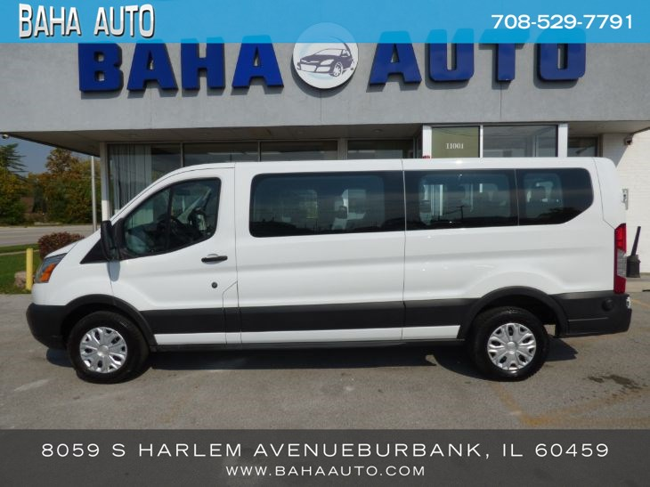 "2019 Ford Transit Passenger Wagon T-350 148"" Low Roof XLT Swing-Out RH Dr"