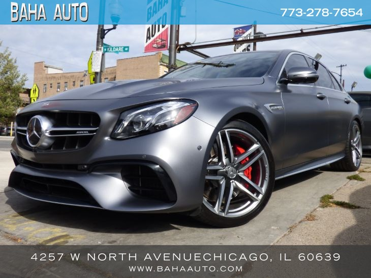 2019 Mercedes-Benz AMG E 63 S 4MATIC+ Sedan AMG E 63 S 4MATIC+ Sedan