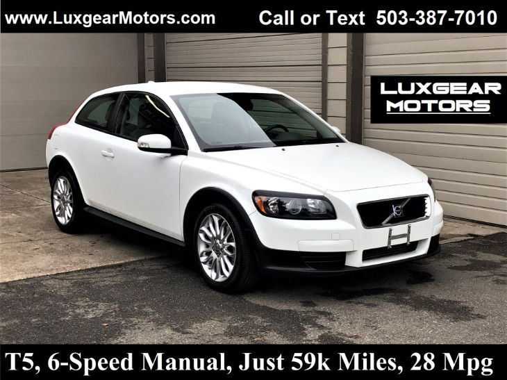 2009 Volvo C30 T5, 6-Speed Manual, Just 59k Miles, 28Mpg