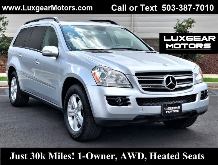 2007 Mercedes-Benz GL 450 SUV, 4Matic, Just 30k Miles, One Owner, Htd Seats