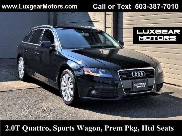 Audi A4 2.0 T >> 2012 Audi A4 2 0t Avant Quattro Wagon Luxgear Motors