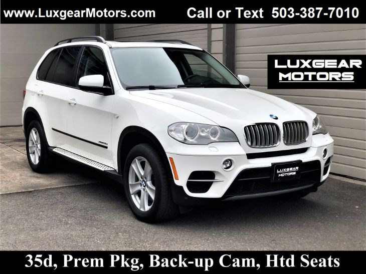 2012 BMW X5 35d xDrive, Backup Cam, Htd Seats, Pano