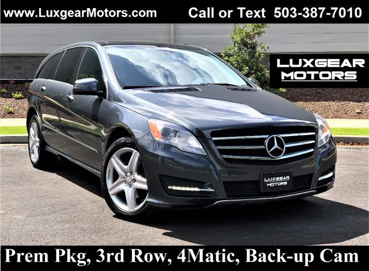 2011 Mercedes-Benz R 350 4MATIC, Pano, Htd Seats, Media Pkg, Backup Cam