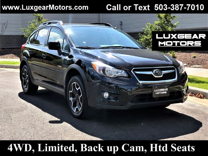 2014 Subaru XV Crosstrek Limited AWD, Backup Cam, Navi, Htd Seats, Sunroof