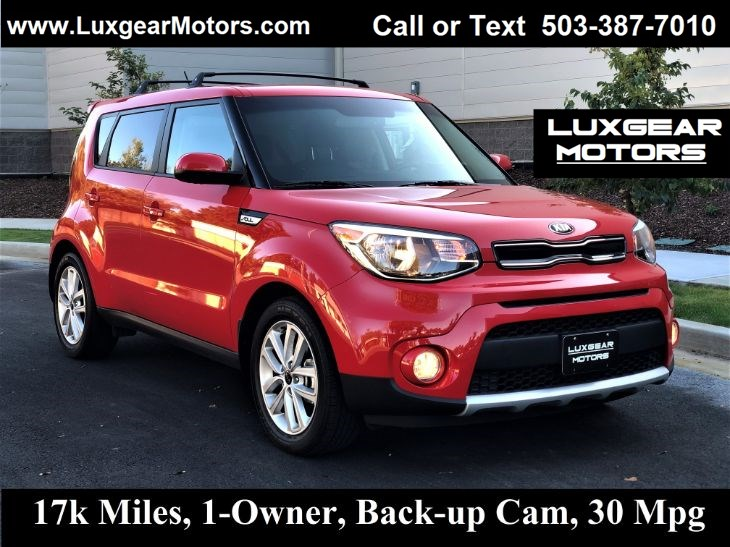 2017 Kia Soul + Backup Cam, 30 MPG, 1-Owner, Just 17k Miles